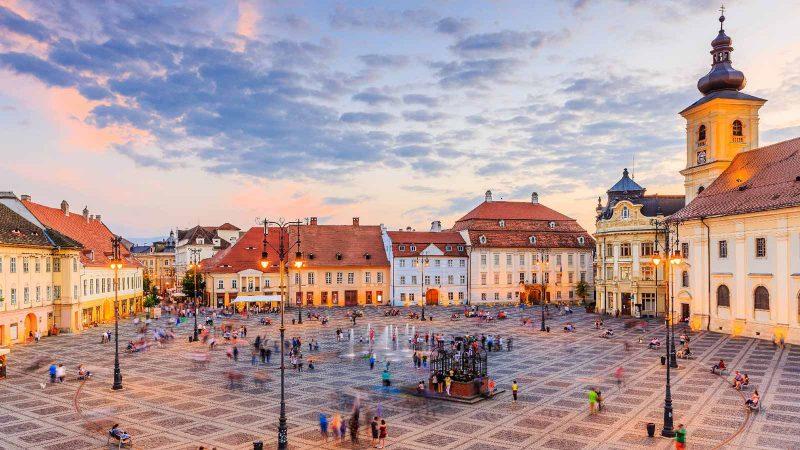 Plaza Mayor de Sibiu