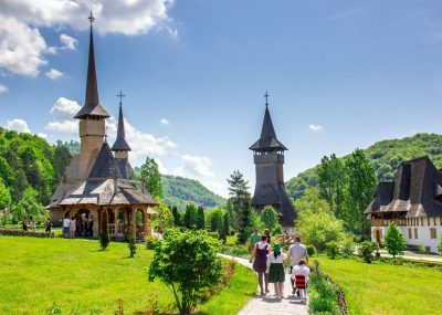 Iglesias de madera. Maramures, Rumanía