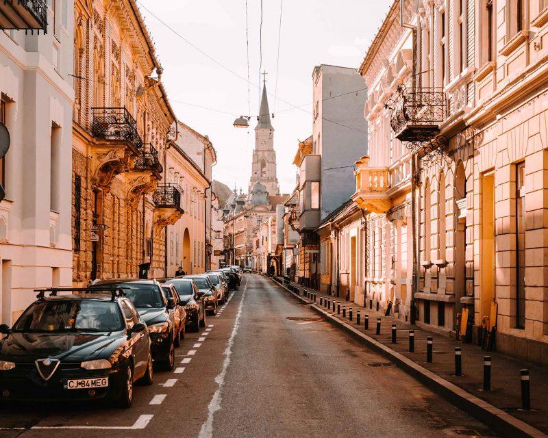 Calles de Cluj Napoca