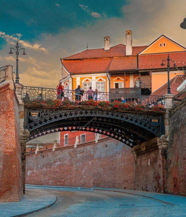 Puente de las Mentiras - Sibiu, Rumanía