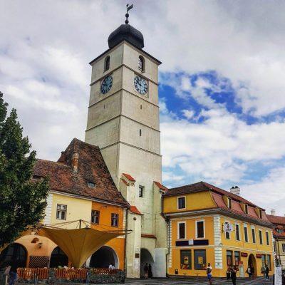 La Torre de Sibiu, Rumanía