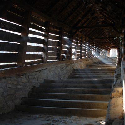 Escaleras cubiertas de Sighisoara